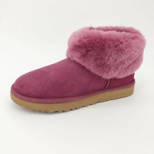 UGG Classic Mini Fluff Boots Low Shearling Booties